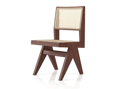 Chandigarh Armless Dining Chair 3d Model N A Armless Dining Chairs