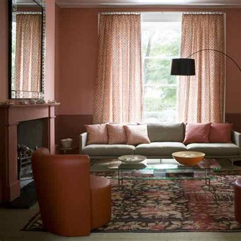 terracotta walls living room terracotta living room housetohome co uk