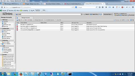 tutorial instalasi zimbra instalasi mail server zimbra 7 dengan linux centos 5