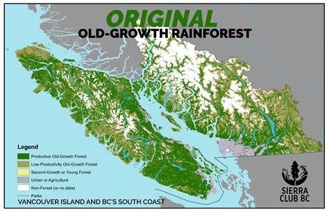 growth on growing support for protecting endangered growth on vancouver island and b c s