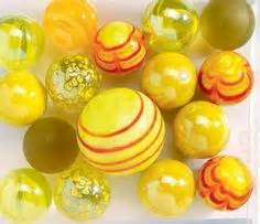 Yellow Marbles For Vases by 1000 Images About Yellow Glass On Yellow