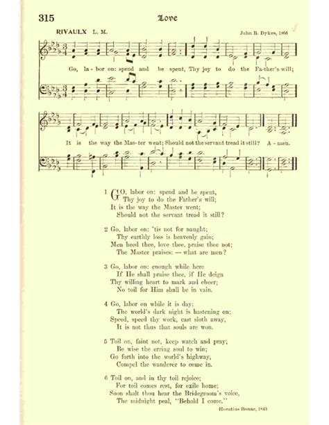 classic hymns with missions references