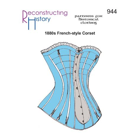 corset pattern making books reconstructing history ladies 1880s corset from