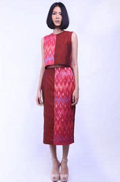07 Dress Benhur Flow dress ulos batak bahan ulos kombinasi tenun bima ukuran s m warna hitam merah ungu
