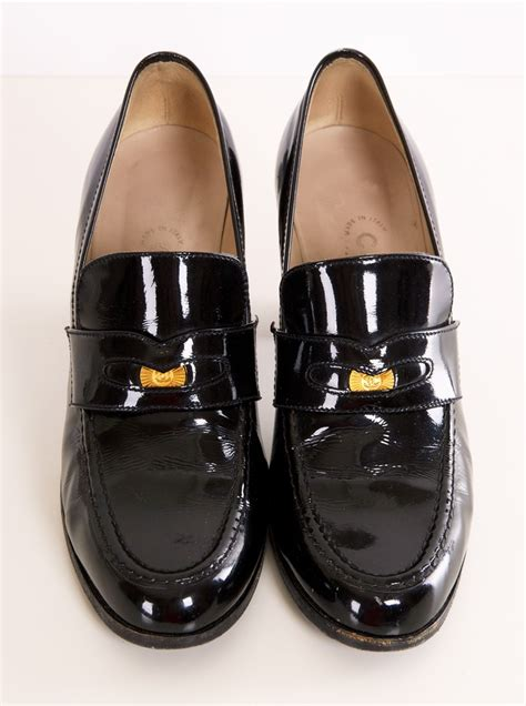loafers chanel loafers chanel 28 images chanel leather chain loafers