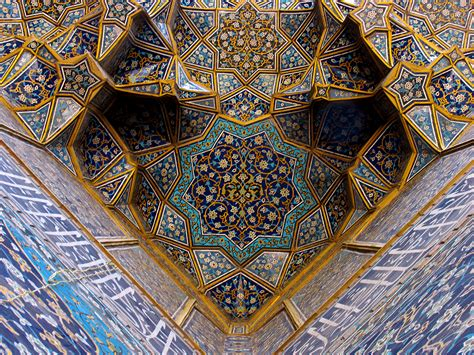 islamic pattern in architecture elevation map of isfahan iran maplogs