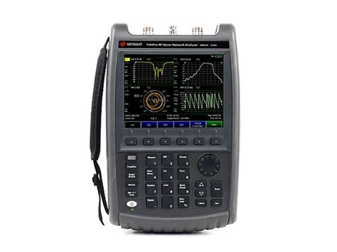 na fieldfox handheld rf vector network analyzer  ghz   ghz keysight