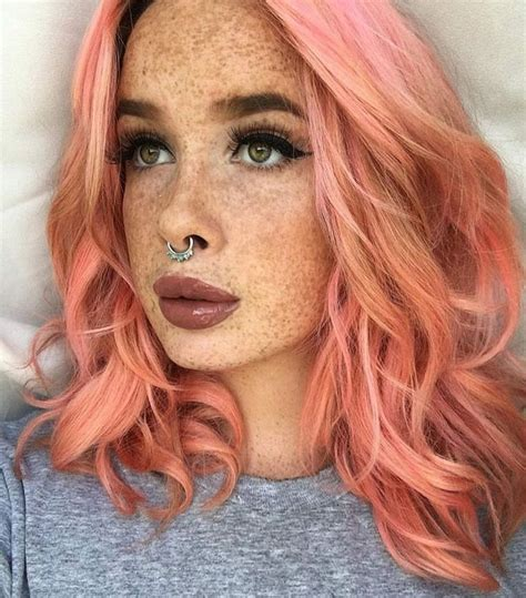 coral hair color top 25 best pastel coral hair ideas on coral