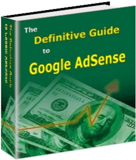 ebook tutorial google adsense google adsense books free download e book free download