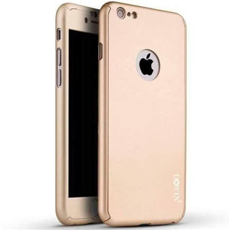 Iphone 6 Plus 6s Plus Ori Baby Skin Ultra Thin Gold Us8 360 degree all protective slim fit cover with tempered glass screen protector skin