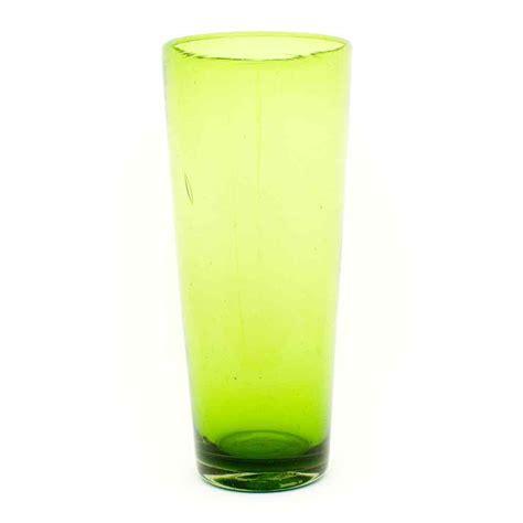 Lime Vase by Lime Flared Vase 16 X 30cm Milagros