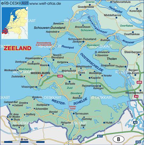 kapelle netherlands map map of zeeland netherlands map in the atlas of the