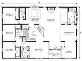 Small Double Wide Mobile Home Floor Plans by Double Wide Mobile Homes Mobile Modular Home Floor Plans