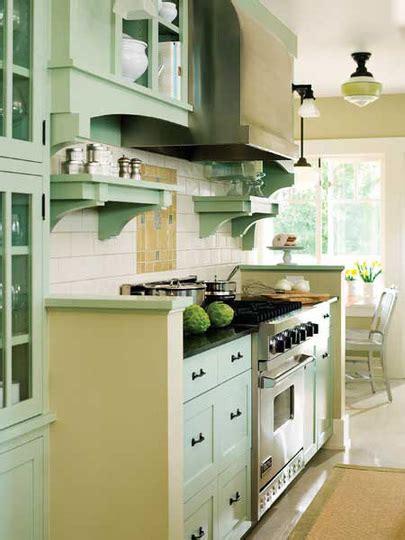 Seafoam Green Kitchen Cabinets Calling All Color Mavens