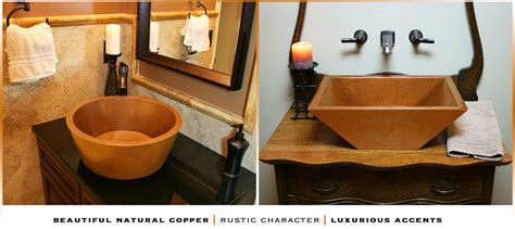 Copper Kitchen Sinks For Sale Home Decor Appealing Copper Bathroom Sinks To Complete Usa Crafted Havens Metal Home Depot As Your