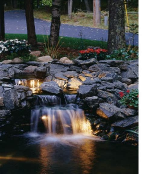 backyard pond with waterfall koi pond pictures