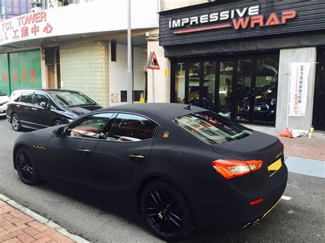 wrapped maserati ghibli this is what wrapping your maserati ghibli should look