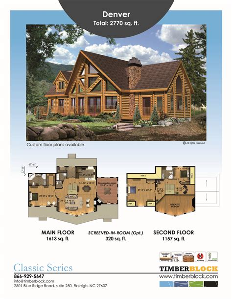 timber log home floor plans log home plans by timber block features fabulous floor