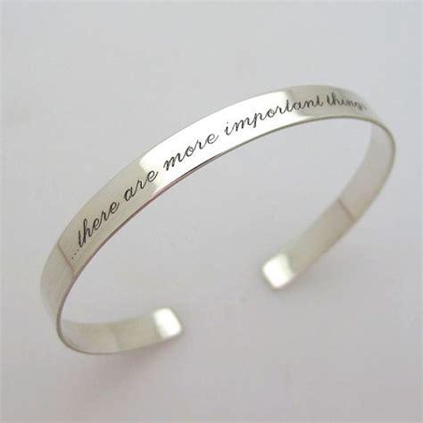 inspirational cuff bracelet sterling silver cuff