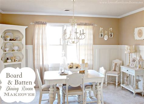 Dining Room Makeover Ideas | board batten dining room makeover love of family home