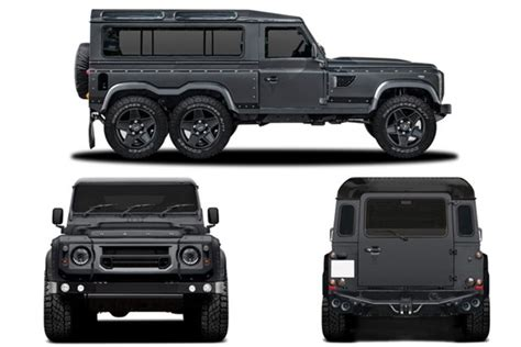 mercedes jeep 6 wheels the defender flying huntsman 6 wheel suv pickup truck