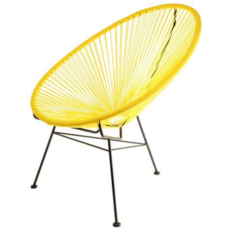 fauteuil acapulco jaune la chaise longue