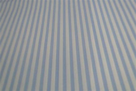 gordijnen wit gestreept katoen stof lichtblauw met wit gestreept