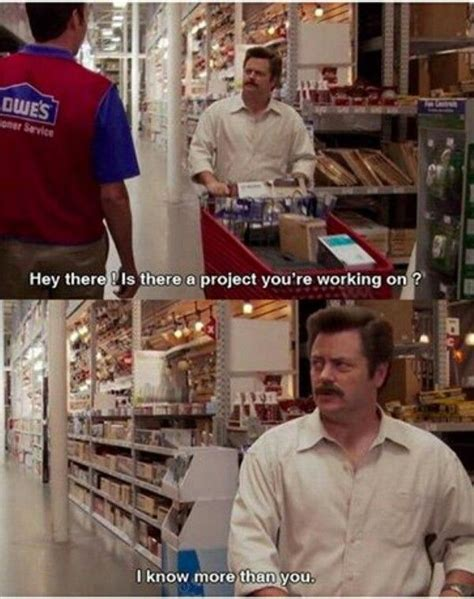 swanson woodworking aka every episode of the big theory memes
