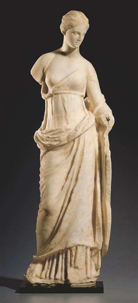 ancient greek woman sculpture a greek marble aphrodite hellenistic period circa 2nd