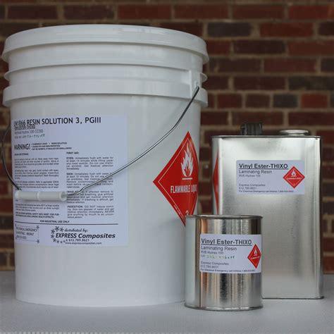 Epoxy Vinyl Ester Resin Msds - reichhold hydrex 100 vinyl ester thixotropic express