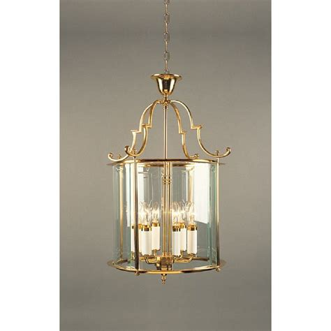 Brass Ceiling Lantern by Large Gold Polished Brass Entrance Or Foyer Lantern Regency Style