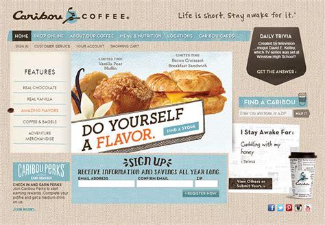 coffee shop web design inspiration 150 coffee shop and caf 233 websites for design inspiration