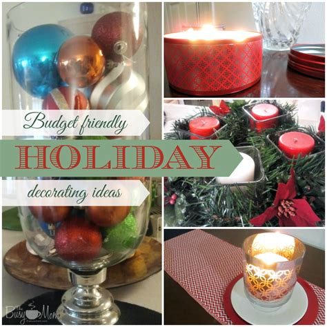 budget friendly holiday decorating ideas author and
