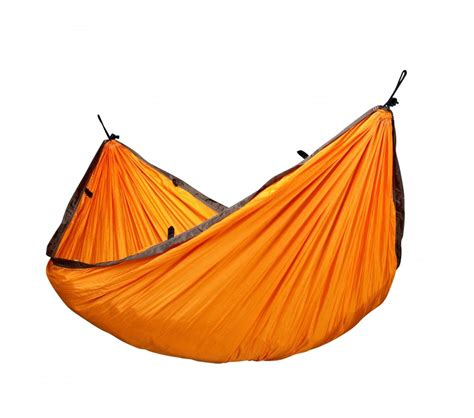 Hamac De Voyage by Hamac De Voyage Simple Colibri Orange La Siesta