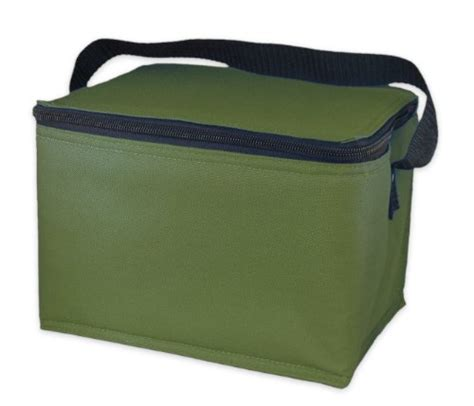 easylunchboxes insulated lunch box cooler bag olive