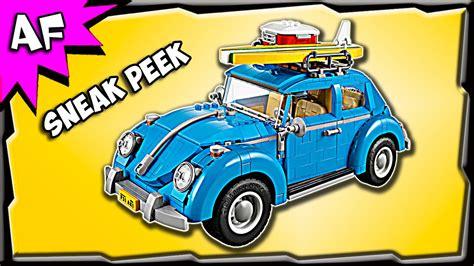 lego creator volkswagen vw beetle  sneak peek official images youtube