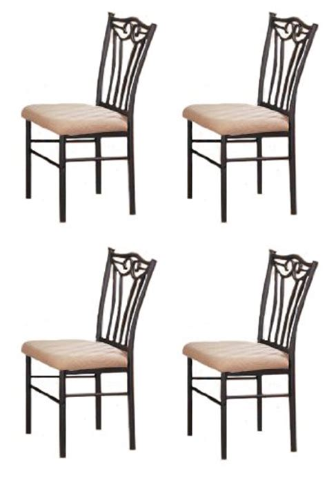 black metal dining room chairs 4 black metal dining chairs furniturendecor com