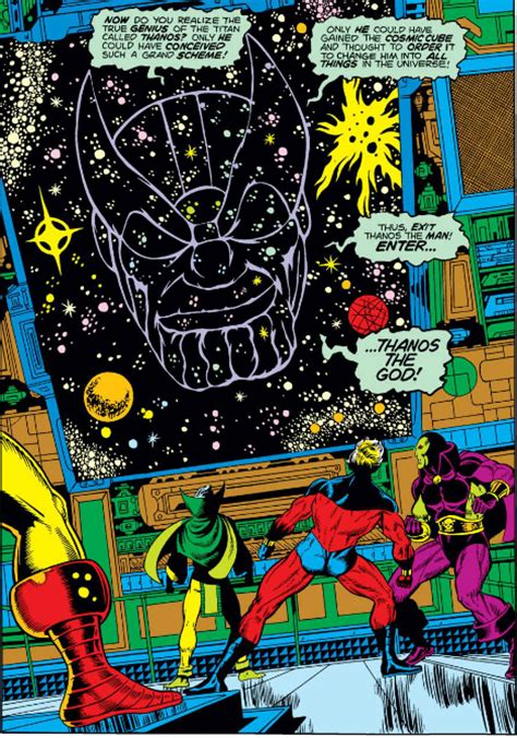 thanos vol 2 the god quarry thanos 1st appearance and of captain marvel 22 33