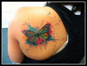 colorful butterfly tattoos colorful butterfly fever