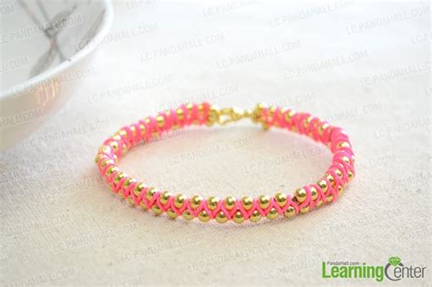 How To Make Handmade Bracelets With String - fabulously easy handmade jewelry for string