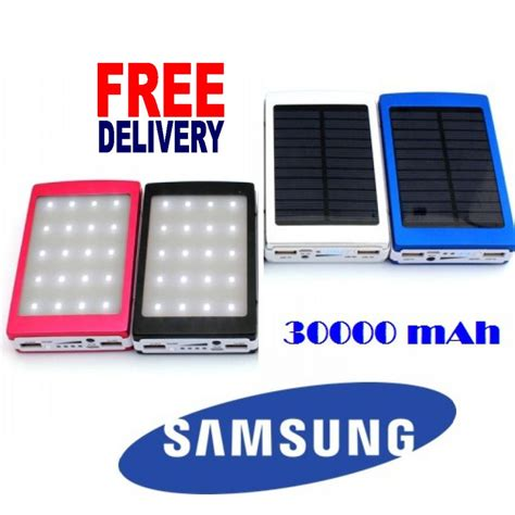 Power Bank Solar 60000mah samsung solar power bank 20000 mah high backup