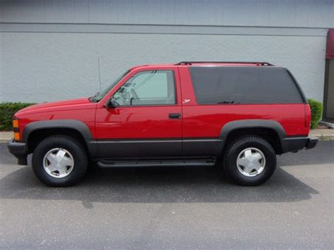 1996 2 Door Tahoe For Sale by Find Used 1996 Chevrolet Tahoe Lt Sport Utility 2 Door 5