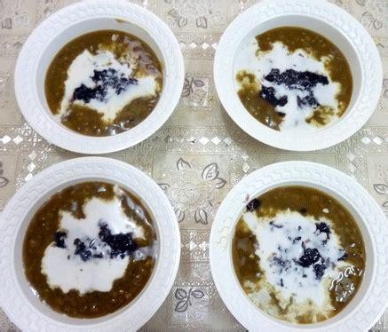 cara membuat bubur kacang hijau enak dan gurih resep bubur kacang ijo ketan hitam spesial madura resep