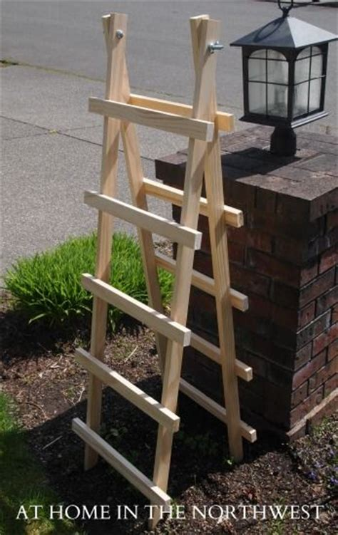 simple garden trellis easy diy trellis let your garden grow