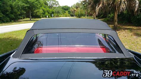 black 59 cadillac 1959 cadillac convertible for sale restored 1959 cadillac
