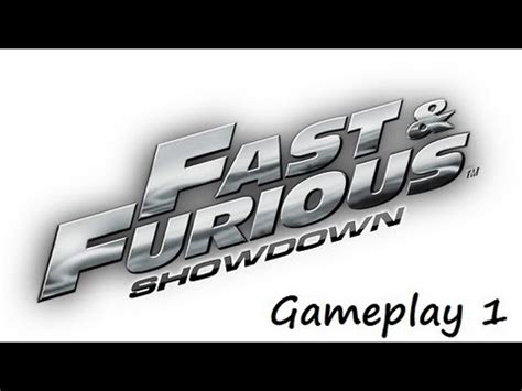 Nintendo 3ds Fast Furious Showdown Second fast furious showdown nintendo 3ds gameplay 1 options