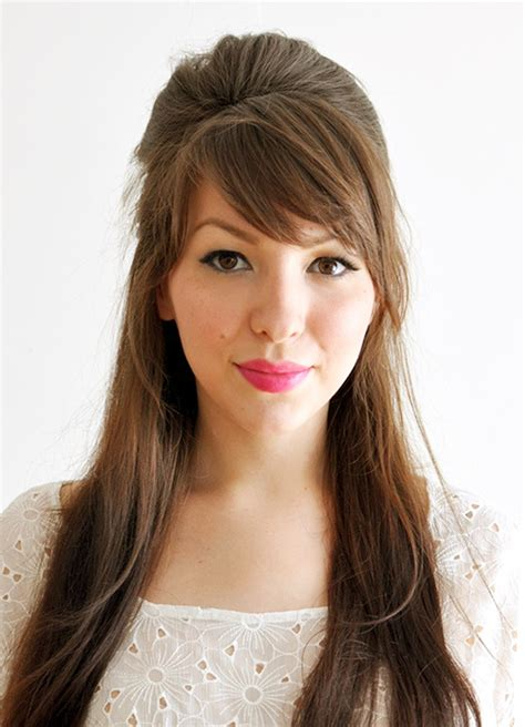 50 gorgeous side swept bangs hairstyles for every shape - Hair Style For Hair With Bangs