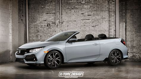 honda convertible honda civic cabriolet is a curious car unlikely to happen