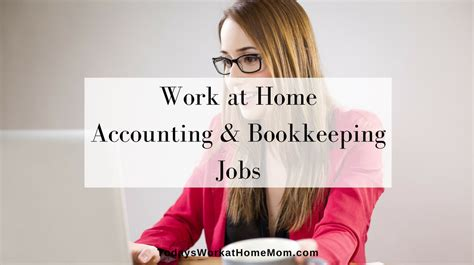 accounting and bookkeeping from home todays work at