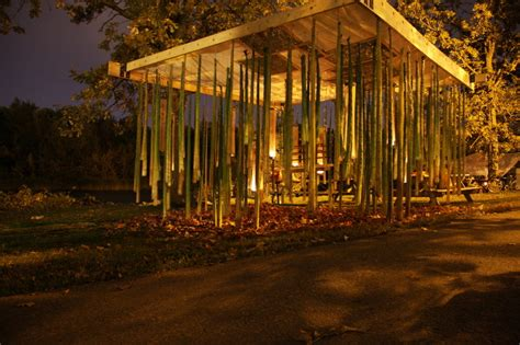 pavillon forst the hanging forest cottrell architecture portfolio